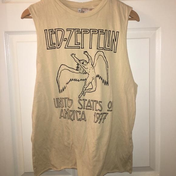 1f4f58067f1ee Led Zeppelin Tank Top  Muscle Tee